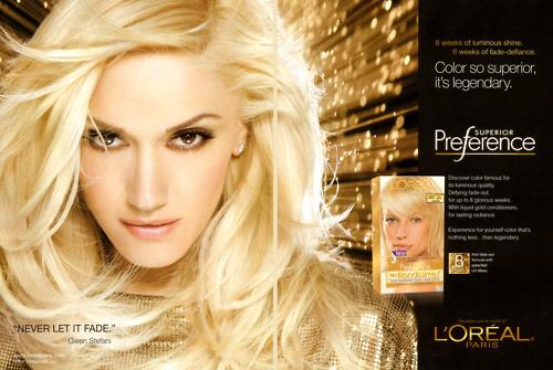 Реклама краска для волос