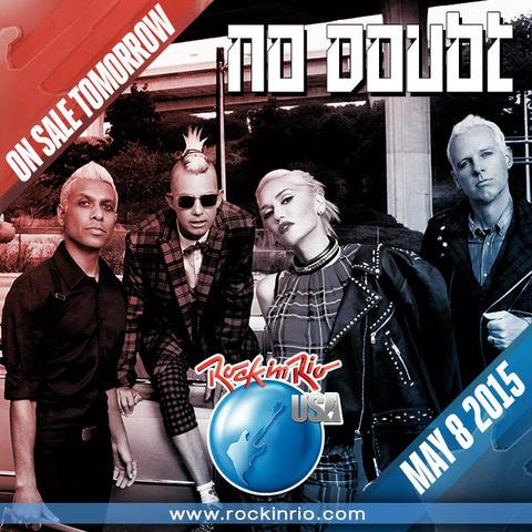 No Doubt выступят на Rock In Rio USA