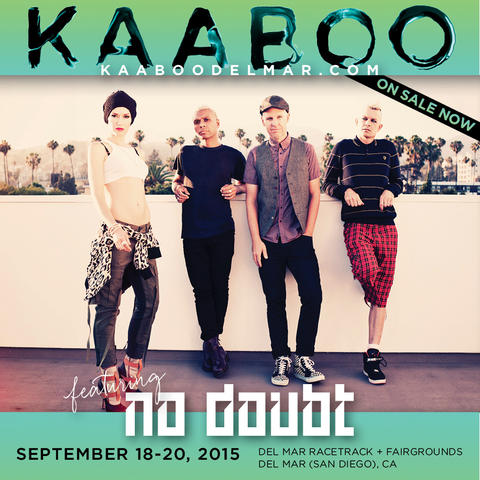 No Doubt на фестивале Kaaboo Del Mar